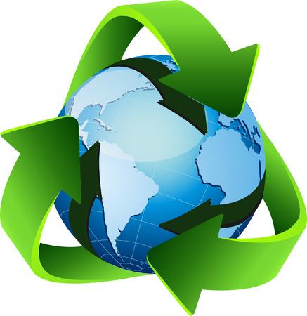 Reciclar Ilustración de vector