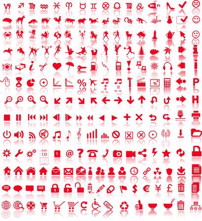Web symbols  Stock Vector - 4800773