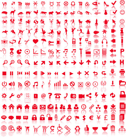note pc: Web symbols  Illustration