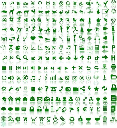Web symbols Stock Vector - 4800774