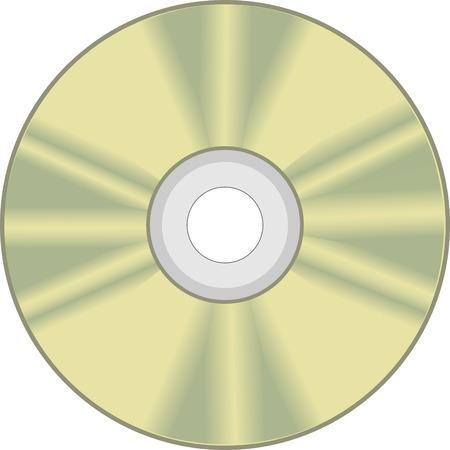 cd rom: vector CD disk, CD ROM Illustration