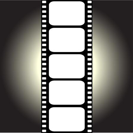 film making: vector filmstrip
