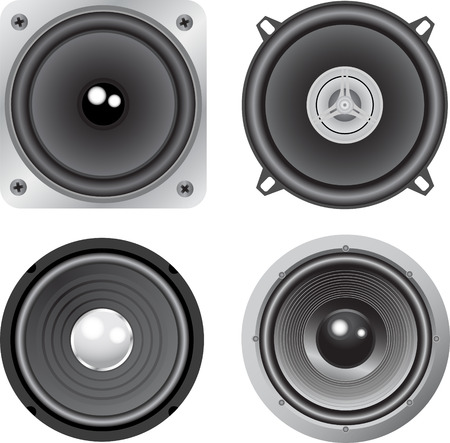 vector loudspeaker Stock Vector - 4979082
