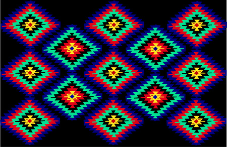 vector Serbian traditional carpet textures Stock Vector - 4979093