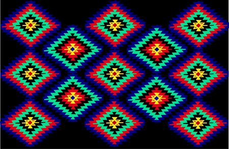 serbien: Vektor-serbischen traditionellen Teppich Texturen