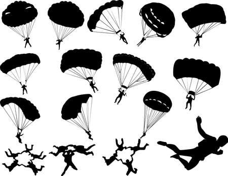 deslizamiento: Paracaidismo