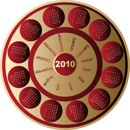 almanacs: Calendar, 2010