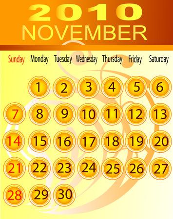 November 2010 Vector