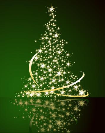 tree line: Christmas tree