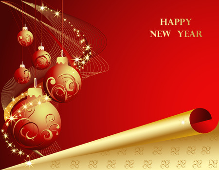 New Year decoration Vector