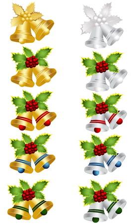 Christmas bell Vector