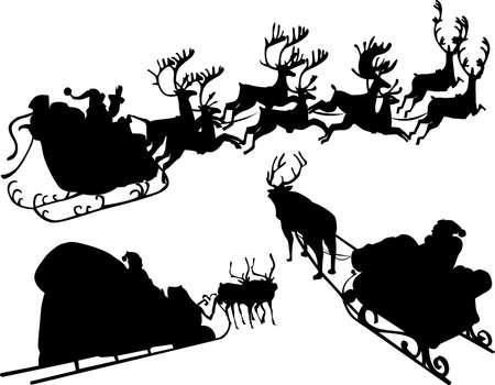 Merry Christmas illustrations Vector