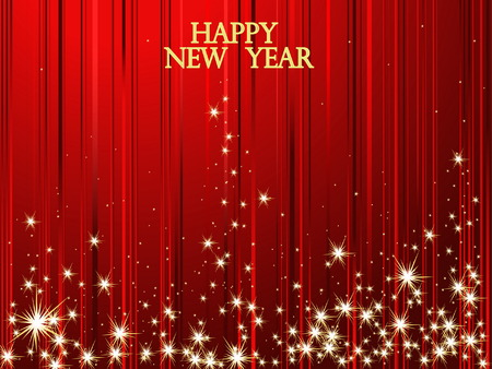 New Year background Stock Vector - 5879248