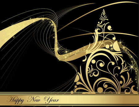 Happy New Year Stock Vector - 5953129