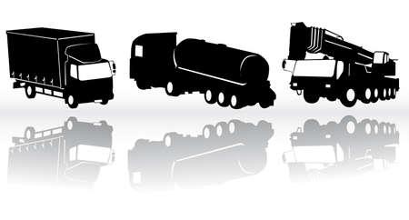 bouwkraan: Bouw voer tuigen - collectie  Stock Illustratie