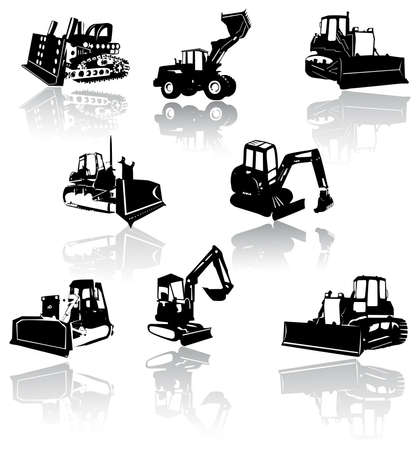 digger: Construction vehicles -  collection
