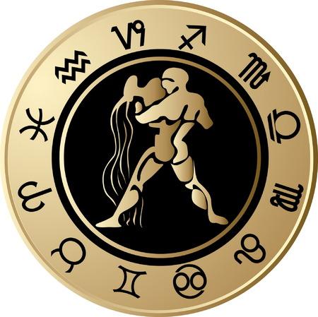 horoscopo libra: Hor�scopo acuario Vectores