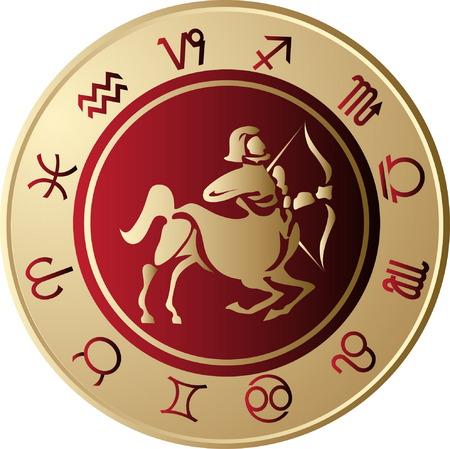 sagittarius: Horoscope Sagittarius Illustration