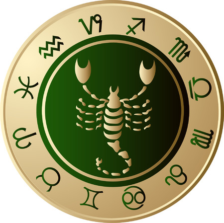 escorpio: Hor�scopo Escorpio  Vectores