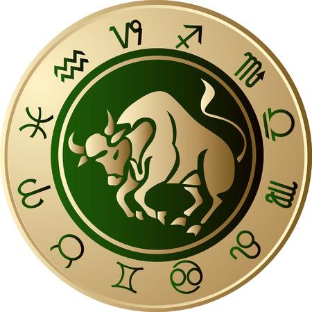 Horoscope Taurus Vector