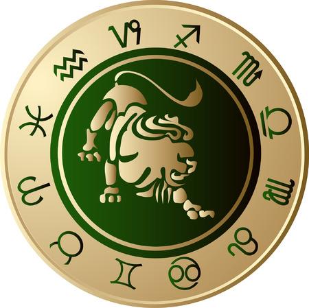 Horoscope Leo Vector