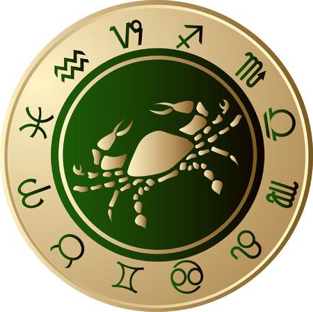 Horoscope Cancer Vector