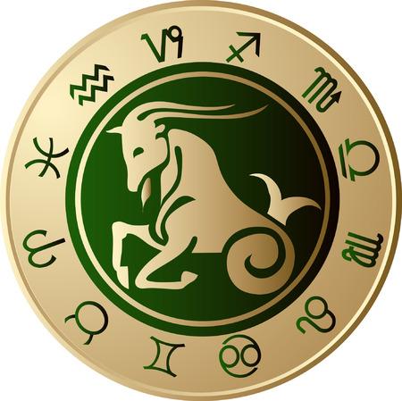 capricorn: Horoscope Capricorn Illustration