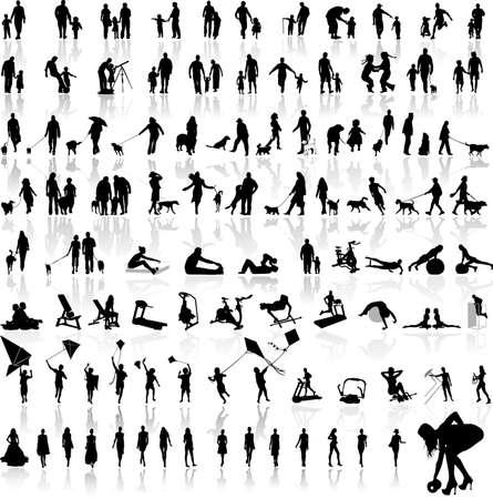 stylize: afbeelding van verschillende mensen.