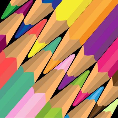 Colored pencils Stock Vector - 7368583
