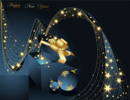 Happy New Year background Stock Vector - 7368600