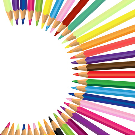 Colored pencils Stock Vector - 7559749