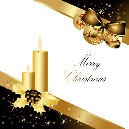 Merry Christmas background Stock Vector - 7573045