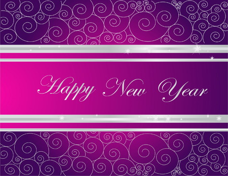 Happy New Year background Stock Vector - 7573033