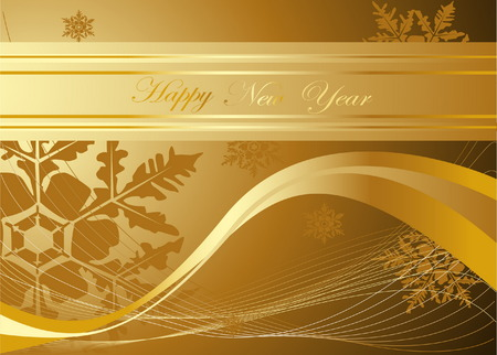 Happy New Year background Stock Vector - 7616839