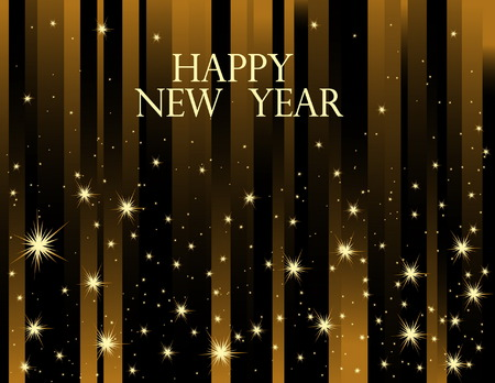 Happy New Year background Stock Vector - 7616855