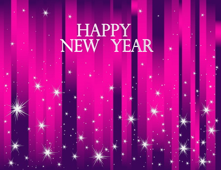 Happy New Year background Vector