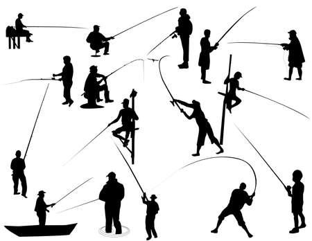 pescador: Conjunto de pescador