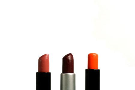 matte: Three matte lipsticks