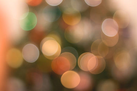 new year s eve: Colorful bokeh background. Stock Photo