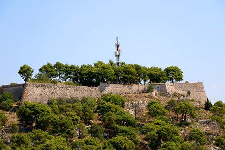 Historical St. John fortress in Sibenik, Croatia.