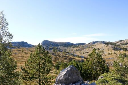 Beautiful landscape on Biokovo mountain in Dalmatia, Croatia.