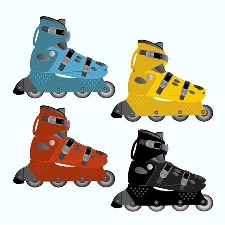inline skating: Roller Skates