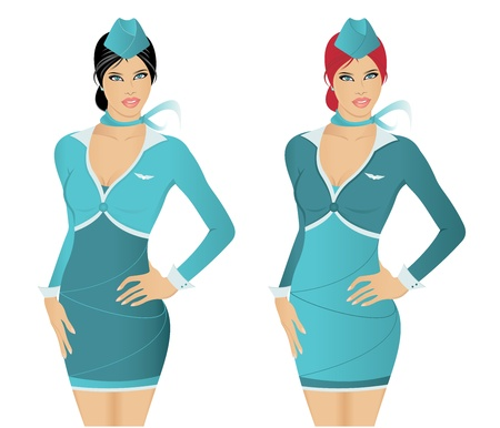 Stewardesses Vector
