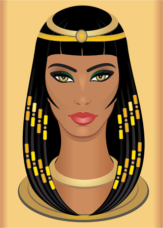 hair beauty: Cleopatra