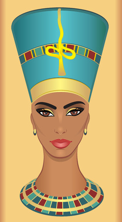 egyptian woman: Nefertiti