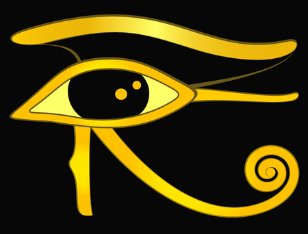 Horus eye Illustration