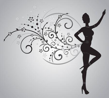 Samba Dancer Illusztráció