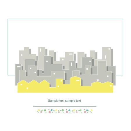 cityscape vector illustration Stock Vector - 26266893