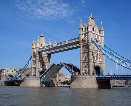london tower bridge: Tower Bridge, London, UK      Stock Photo