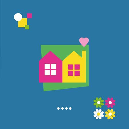 housewarming: housewarming greeting card Illustration